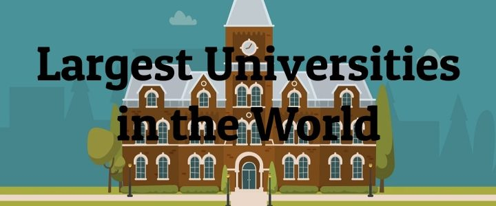 7 Largest Universities in the World